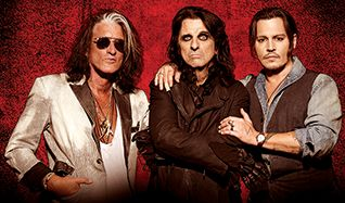 Hollywood Vampires tickets at The Mountain Winery in Saratoga