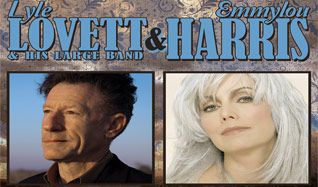 Lyle Lovett and his Large Band / Emmylou Harris tickets at Fiddler's Green Amphitheatre in Greenwood Village