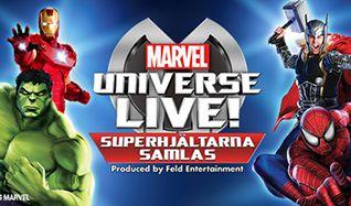 Marvel Universe LIVE! - Superhjältarna samlas tickets at Ericsson Globe, Stockholm