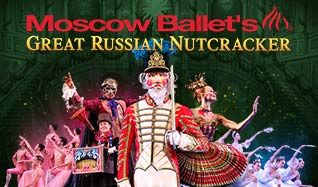 Moscow Ballet's Great Russian Nutcracker tickets at The Warfield in San Francisco