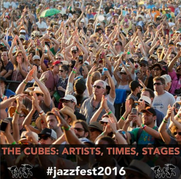 Jazz Fest has reveals its cubes