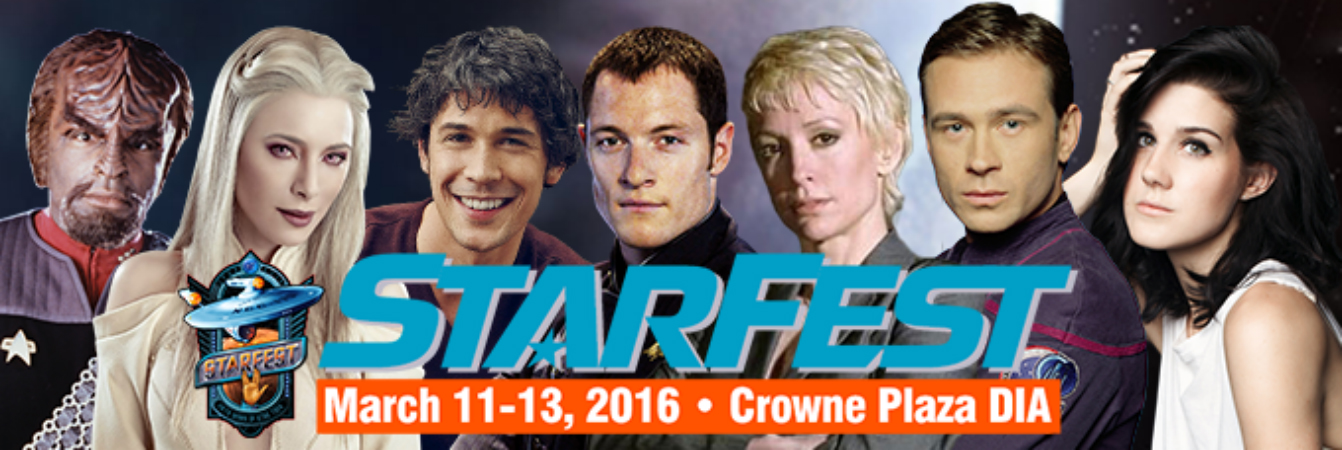 StarFest 2016 will take over the Crowne Plaza Convention Center March 11-13.