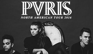 PVRIS: North American Headline Tour plus guests Lydia, CRUISR, and Polyenso tickets at Mill City Nights in Minneapolis