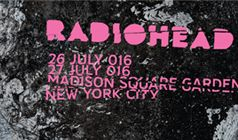 Radiohead tickets at Madison Square Garden in New York City