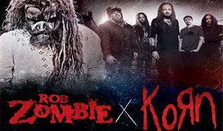 Rob Zombie / Korn tickets at Fiddler's Green Amphitheatre in Greenwood Village
