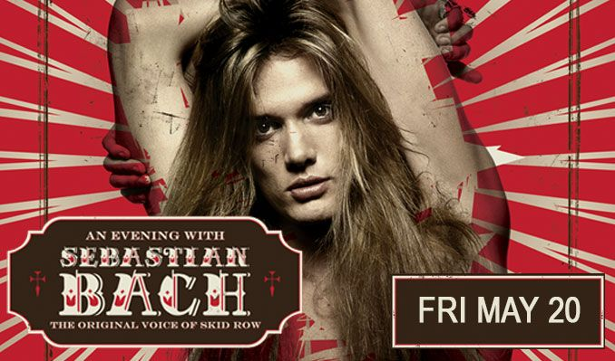 Sebastian Bach (the original voice of Skid Row) tickets at Starland Ballroom in Sayreville