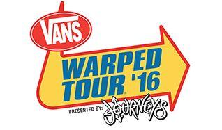 Vans Warped Tour '16 tickets at Shoreline Amphitheatre in Mountain View