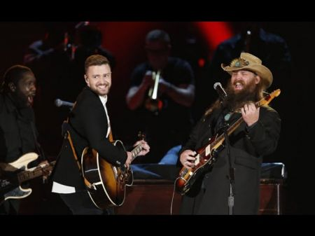 Chris Stapleton Justin Timberlake Steal The Show At Cma