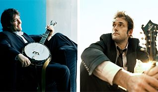 Bela Fleck & Chris Thile tickets at The Theatre at Ace Hotel in Los Angeles