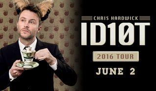 Chris Hardwick  tickets at Starland Ballroom in Sayreville