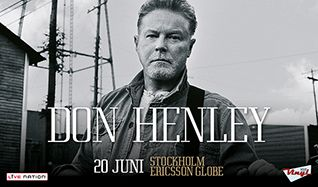 Don Henley tickets at Ericsson Globe in Stockholm