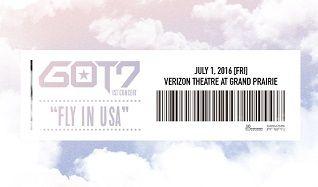 GOT7 tickets at Verizon Theatre at Grand Prairie in Grand Prairie