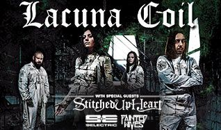 Lacuna Coil tickets at Mill City Nights in Minneapolis