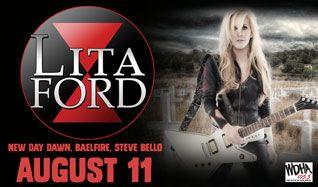 Lita Ford tickets at Starland Ballroom in Sayreville
