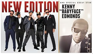 New Edition tickets at Microsoft Theater in Los Angeles