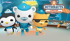 Octonauts Live! tickets at Count Basie Theatre in Red Bank