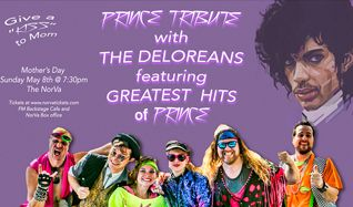 Prince Tribute with The Deloreans tickets at The NorVa in Norfolk