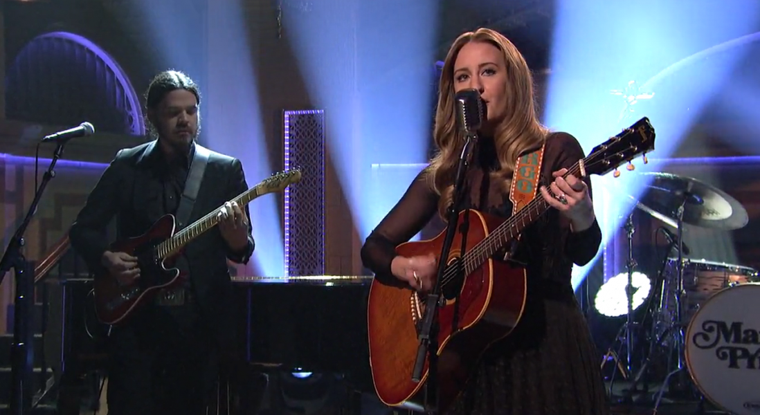 On' On  >> Watch: Exciting country newcomer Margo Price performs on 'Saturday Night Live' - AXS