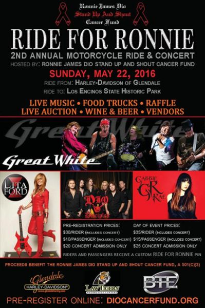 Ride for Ronnie Rally & Concert