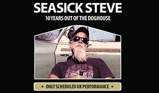 Seasick Steve tickets at The SSE Arena, Wembley in London