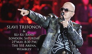 Slavi Trifonov tickets at The SSE Arena, Wembley in London