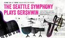 The Seattle Symphony Plays George Gershwin tickets at King County's Marymoor Park in Redmond