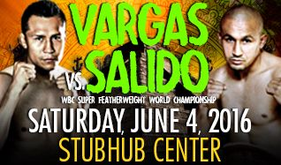 Vargas vs. Salido tickets at StubHub Center in Carson