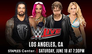WWE Live tickets at STAPLES Center in Los Angeles