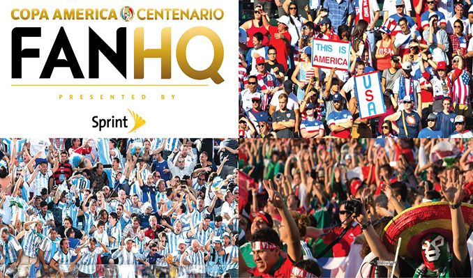 2016 Copa America Centenario FanHQ presented by Sprint