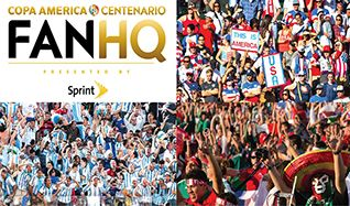 2016 Copa America Centenario FanHQ presented by Sprint tickets at Showbox SoDo in Seattle