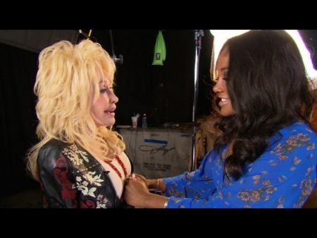 Dolly Parton brings Mickey Guyton's dream to life