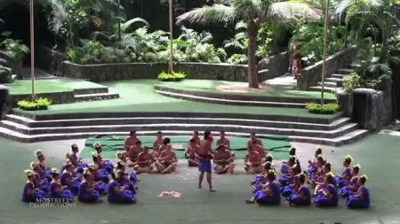 Samoan culture highlighted by  fireknife competitions explodes on stage in Oahu