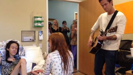 Watch: Florence + The Machine put on a private show for a teen in hospice care