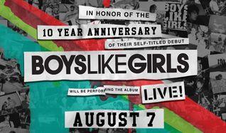 Boys Like Girls - 10 Year Anniversary tickets at Starland Ballroom in Sayreville