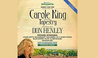 Carole King Performing Tapestry tickets at Hyde Park in London
