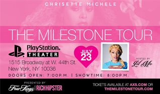 Chrisette Michele tickets at PlayStation Theater in New York