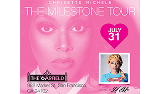 Chrisette Michele tickets at The Warfield in San Francisco