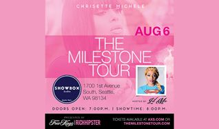 Chrisette Michele tickets at Showbox SoDo in Seattle