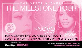 Featuring Chrisette Michele tickets at The Novo by Microsoft in Los Angeles
