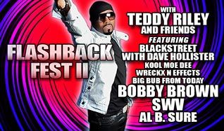 Flashback Fest II feat Teddy Riley and Friends tickets at Verizon Theatre at Grand Prairie in Grand Prairie