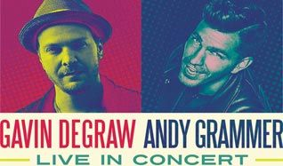 Gavin DeGraw & Andy Grammer tickets at 1STBANK Center in Broomfield