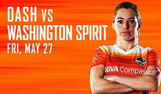Houston Dash vs. Washington Spirit tickets at BBVA Compass Stadium in Houston