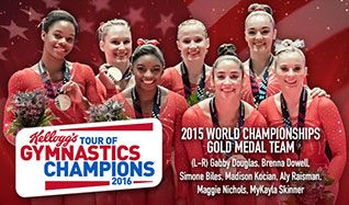 Kellogg's Tour of Gymnastics Champions tickets at STAPLES Center in Los Angeles