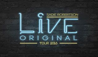 Live Original 2016 with Sadie Robertson tickets at 1STBANK Center in Broomfield