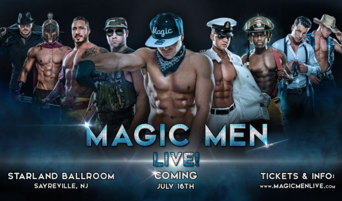 Magic Men Live! tickets at Starland Ballroom in Sayreville