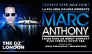 Marc Anthony tickets at The O2 in London