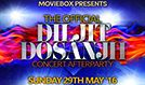 Official Diljit Dosanjh Concert After Party tickets at The SSE Arena, Wembley in London