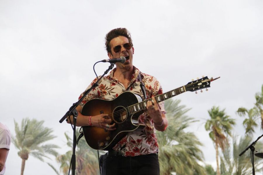 Sam Palladio performs at the 2016 Stagecoach Festival