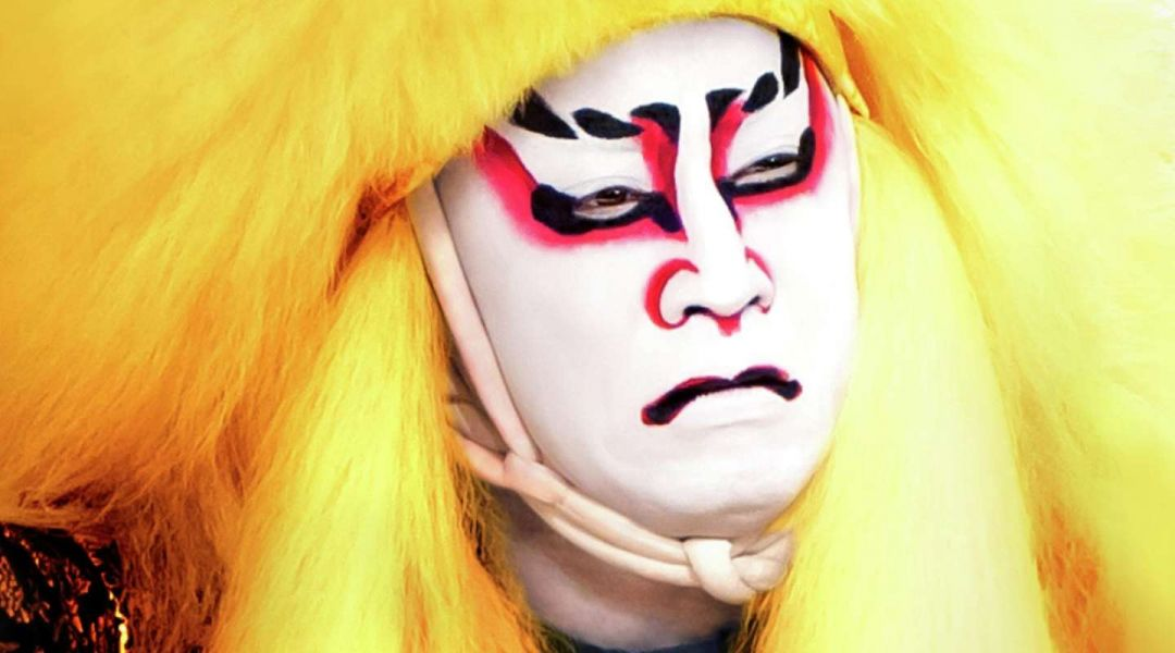 "Kabuki Lion Shi-Shi-O is the wise father in ""The Adventures of the Mythical Lion"""