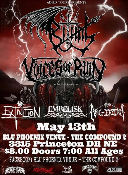 Ritual and more perform at Albuquerque's Blu Phoenix.